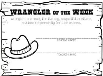 Wrangler of the Week