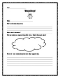 Wrap it up!  Story summary sheet.  Common Core aligned.  Primary grades