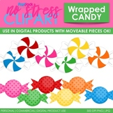 Wrapped Candy Clip Art (Digital Use Ok!)