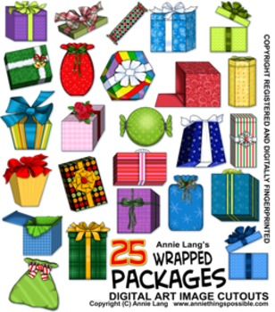 Wrapped Packages Clipart