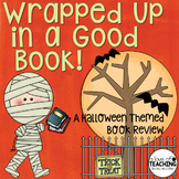 Halloween Book Review: Writing Activity with Bulletin Board Idea