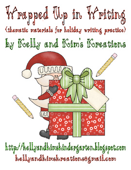 Wrapped Up in Writing (thematic materials for holiday writing practice)
