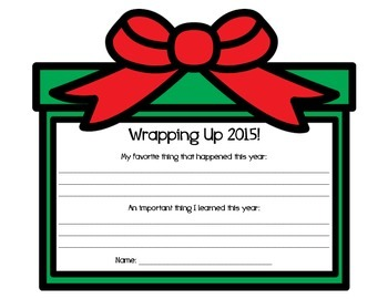 Wrapping Up 2015!