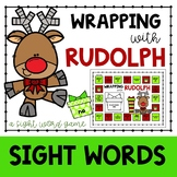 Wrapping with Rudolph {A Sight Word Game}