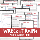 Wreck It Ralph Movie Study Guide