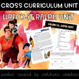 Wreck-it Ralph cross curricular Unit