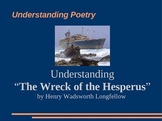 Wreck of the Hesperus Poetry - explanations + questions po