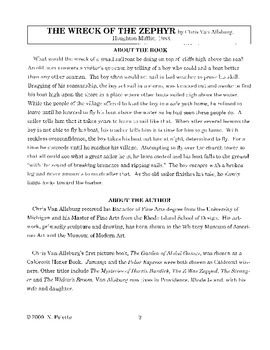 Wreck of the Zephyr Literature Guide