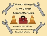 Wrench Wringer Phonics Card Game (wr digraph silent letter)