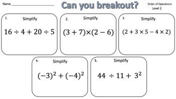 Wrestle with Math Breakout Mega Bundle - 100 Breakouts!