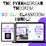 Wrestle with the Pythagorean Theorem Google Form Bundle!
