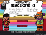 Wrestling Up Fractions #1- Equivalent, Simplified, Comparison