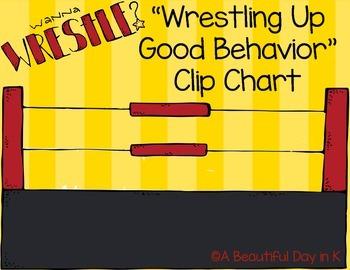Wrestling Up Good Behavior Clip Chart