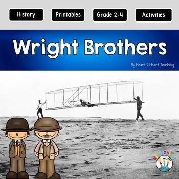 Wright Brothers Research Organizers for Famous Inventors Research Projects