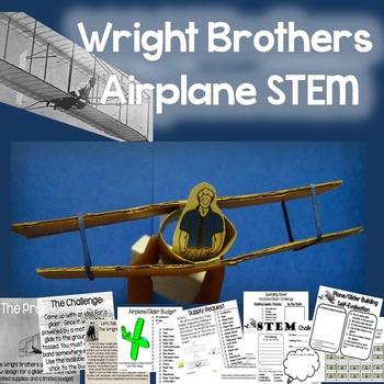 Wright Brothers - Airplane STEM