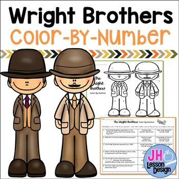 Wright Brothers Color-By-Number