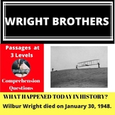 Wright Brothers Differentiated Reading Passage January 30