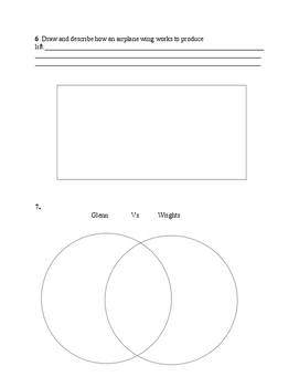 Wright Brothers Interactive Power Point: Worksheet Only