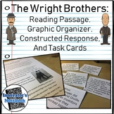 Wright Brothers Reading Passage and Activities