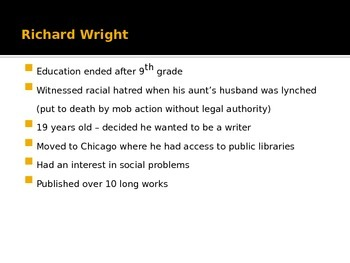 """Wright's """"The Rights to the Streets of Memphis"""" PowerPoint"""