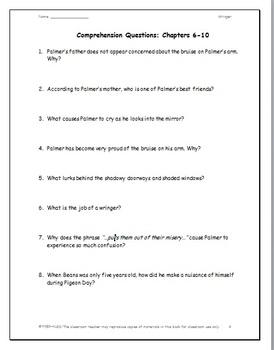 Wringer: A Complete Novel Study