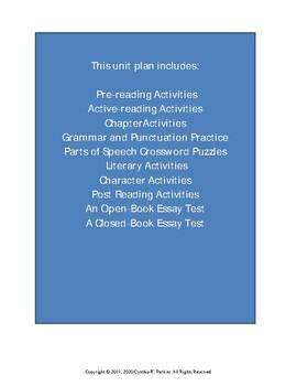 Wringer Complete Literature and Grammar Unit
