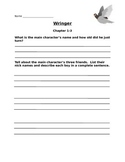 Wringer Comprehension Questions