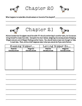 Wringer Guided Reading Packet, Jerry Spinelli
