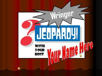 Wringer Jeopardy Game