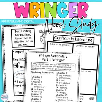 Wringer (Jerry Spinelli) A Complete Novel Study