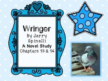 Wringer Novel Study - Chapters 13 and 14