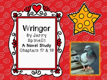 Wringer Novel Study - Chapters 17 and 18