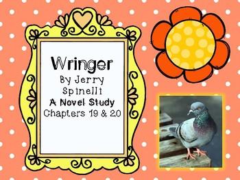 Wringer Novel Study - Chapters 19 and 20