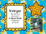 Wringer Novel Study - Chapters 25 and 26