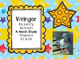 Wringer Novel Study - Chapters 27 and 28