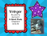 Wringer Novel Study - Chapters 29 and 30