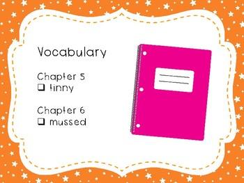 Wringer Novel Study - Chapters 5 and 6