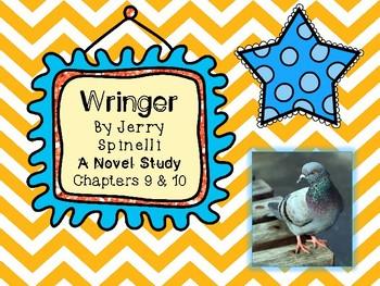 Wringer Novel Study - Chapters 9 and 10