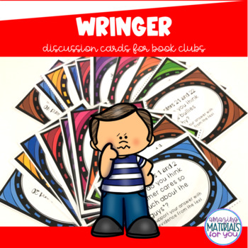 Wringer (Spinelli) Discussion Cards