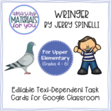 Wringer (Spinelli) *DIGITAL* Discussion Cards for Google Classroom