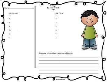 Wringer - Supplemental Book Activities
