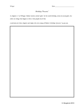 Wringer Worksheets