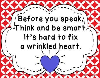 Wrinkle Heart Behavior Management