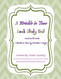 Wrinkle in Time Book Unit