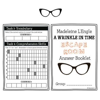 Wrinkle in Time Escape Room
