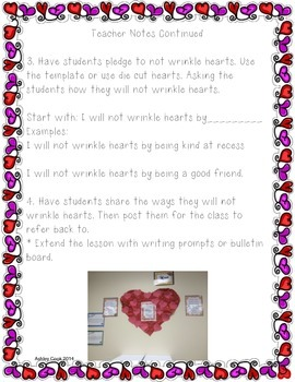 Wrinkled Heart Activities