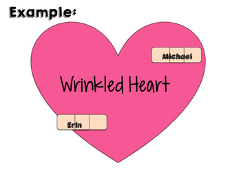 Wrinkled Heart Class Kindness Activity