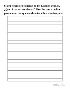 Wrirting Prompts in Spanish #2