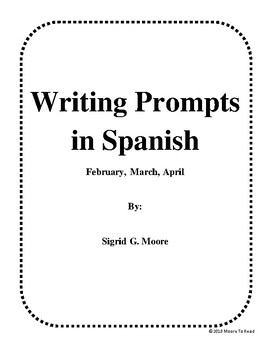 Wrirting Prompts in Spanish #3