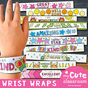 Wrist Band Rewards - Wrist Wraps: Fun, No Prep Classroom Management
